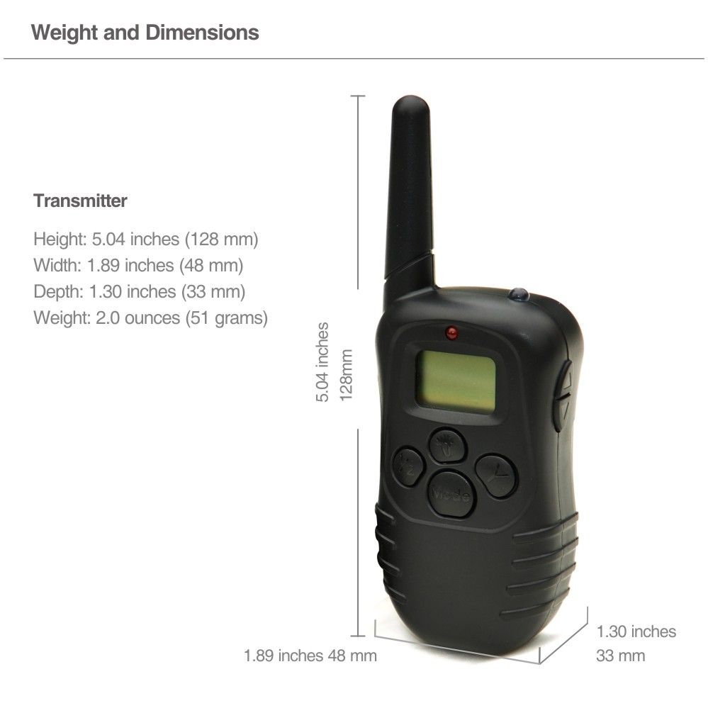 Image 2 - PET998D Remote Transimtter-in Training Collars from Home & Garden