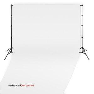 Fusitu 2,6 M * 3M marco de fondo de foto soporte de fondo accesorios de fotografía para sesión de fotos + bolsa de transporte