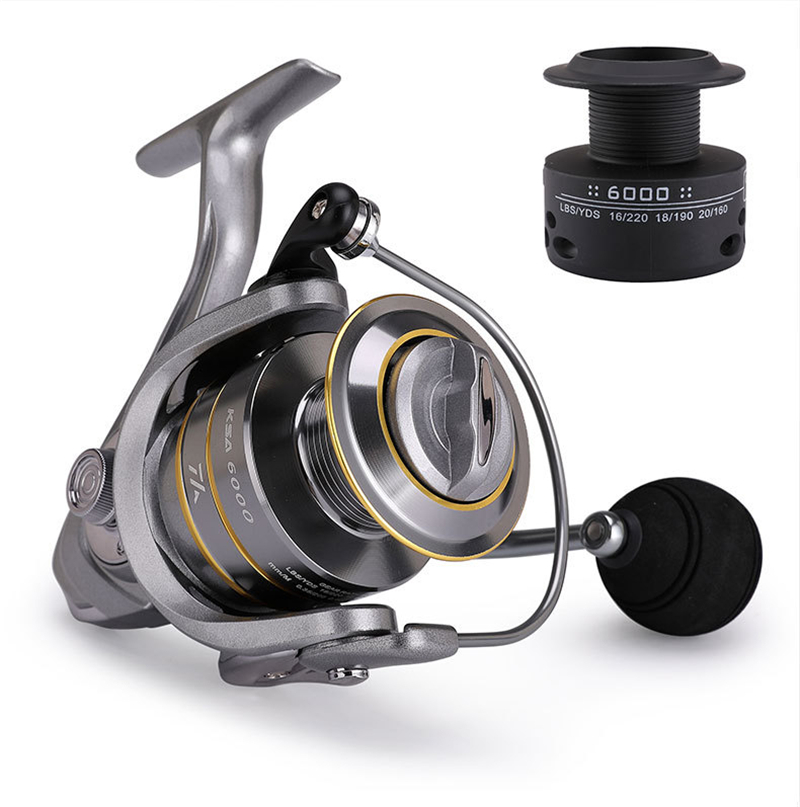 High-Quality Fishing Reel With Non-Slip Bottom And Metal Spool For Saltwater 23