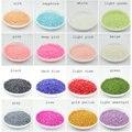 1.5mm 10000 pçs/lote Mais Cor Beads Prego Beleza DIY Nail Art Decorações Ofício Pérolas ABS Imitação Metade Flatback Rodada