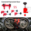 1 Set Car Auto Dual Cam Clamp Camshaft Sprocket Gear Locking Engine Timing Tool Kit Camshaft