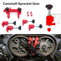 1 Set Car Auto Dual Cam Clamp Camshaft Sprocket Gear Locking Engine Timing Tool Kit Camshaft