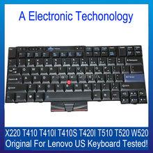 NEUE Original Echte Schwarz Für Lenovo X220 T410 T410I T410S T420I UNS Tastatur T510 T520 W520 Ersatz Laptop Teil Getestet