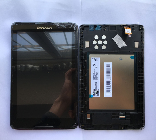 new For Lenovo tab A8-50 A5500 A5500F A5500HV Touch Screen Digitizer LCD Display Glass Assembly Replacement Parts with frame