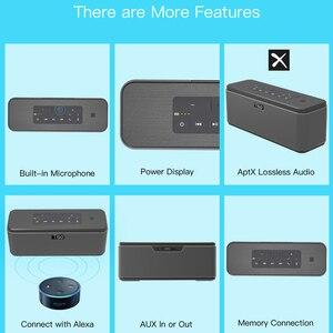 Image 5 - Tiso T12 30W רמקולים פלט 2.2 ערוצים אלחוטי Bluetooth V4.2 רמקולים NFC AUX כוח בנק בית קול סאב מערכת