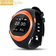 GOLDENSPIKE S888 smart watch support SOS GPS WIFI Anti Falling Alarm Locate Track 400MAH 2G Smart watch FOR Android and ios(China)
