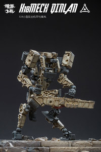 Image 3 - JOYTOY 1/25 action figure soldiers QINLAN and robot MECH gift present Free shipping