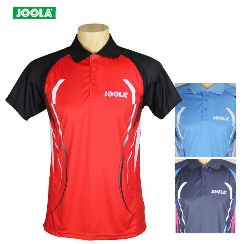 JOOLA Summer Style table tennis T shirt badminton clothing Fitness Outdoor Sports  shirt Quick Dry For men and Women sportwear