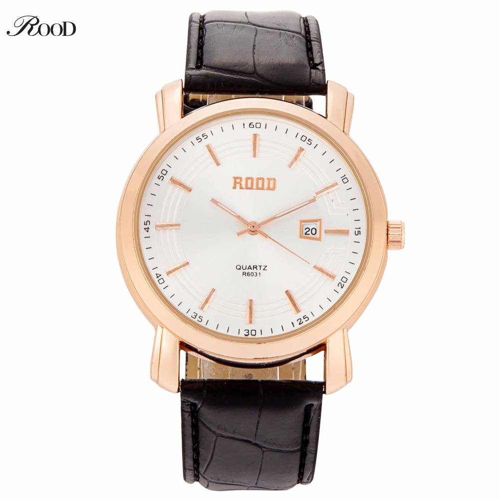 ROOD Army Military Watch Male Clock Men Casual Sport Watches Leather Man Quartz Wristwatch relogio masculino 2017 Montre Homme shiweibao new brand men leather watch sport quartz watches for men male casual clock man military watch relogio masculino hours