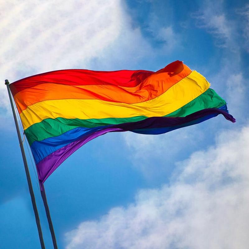 Rainbow Flag Colorful Peace Flags Banner Home Decor