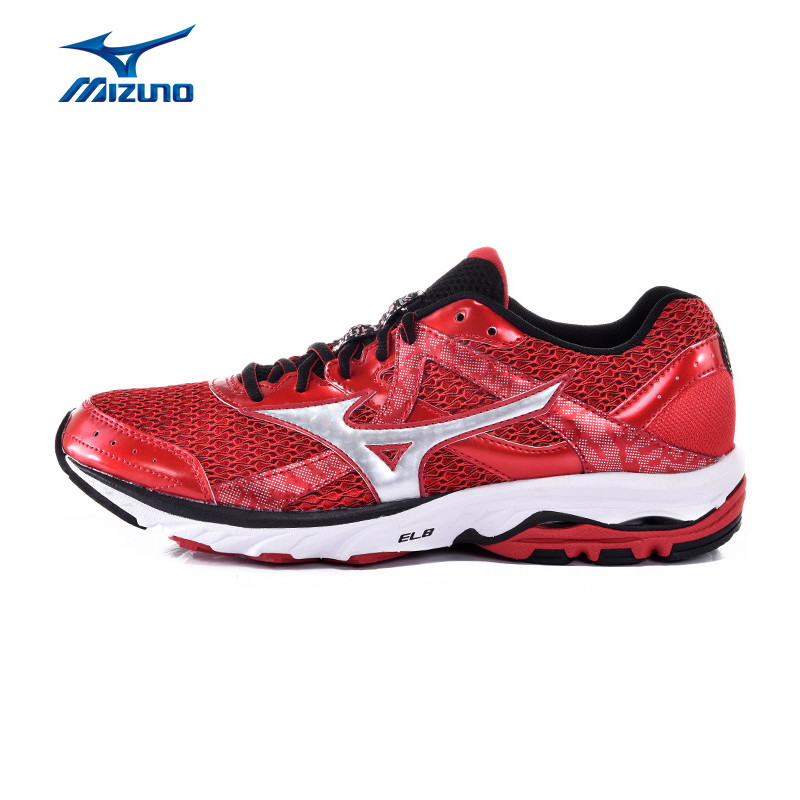 MIZUNO Men WAVE ELEVATION 2 Mesh Breathable Light Weight Cushioning Jogging Running Shoes Sneakers Sport Shoes J1GR151778 XYP357 mizuno men s sports beathable cushioning soccer shoes monarcida fs as light sport shoes sneakers p1gd152301 yxz003