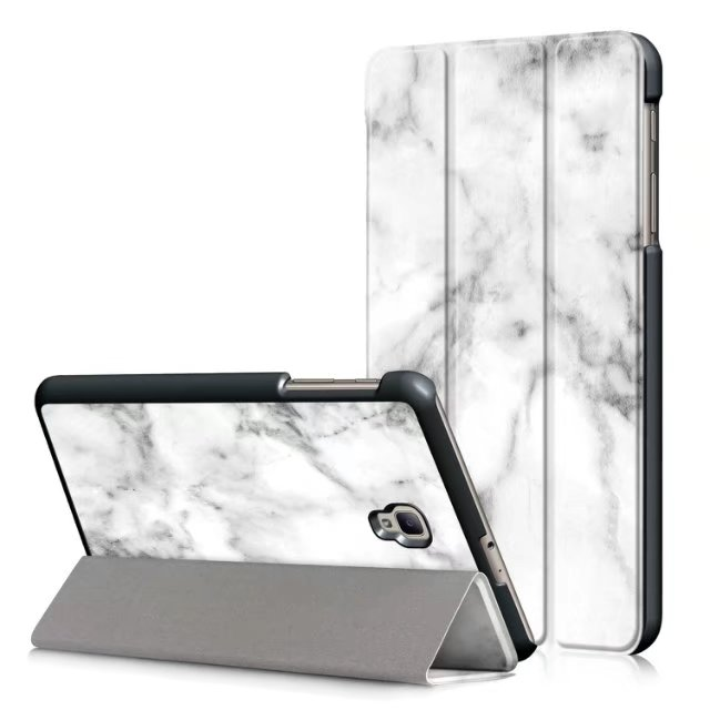 Print PU Leather Stand Smart Cover For Samsung Tab A 8.0 2017 SM-T380 SM-T385 Magnet Sleep Case T380 T385 Coque Funda Shell