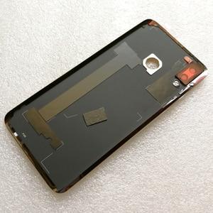 Image 5 - 100% оригинальная новая задняя крышка из закаленного стекла для Huawei Nova 3 Nova3 задняя крышка батарейного отсека Корпус + рамка для камеры + крышка для вспышки
