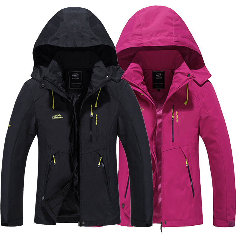 New Mens outdoor sport Jackets Coat male Camping Hiking Windbreaker Men women Spring aut ...