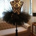 Moda Preto Sexy Festa Curto Tutu Saia de Tule Inchado Saia Curta Saias Moda Saias de Tule Elegante custume