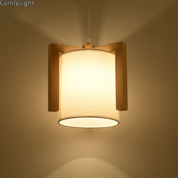 Wood pendant lights vintage lamp lampshade kitchen lighting dining room/nedside night light hang lamp retro loft pendant lamp
