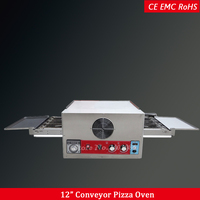 Professional kitchen pizza oven conveyor baking electric convection oven stainless steel