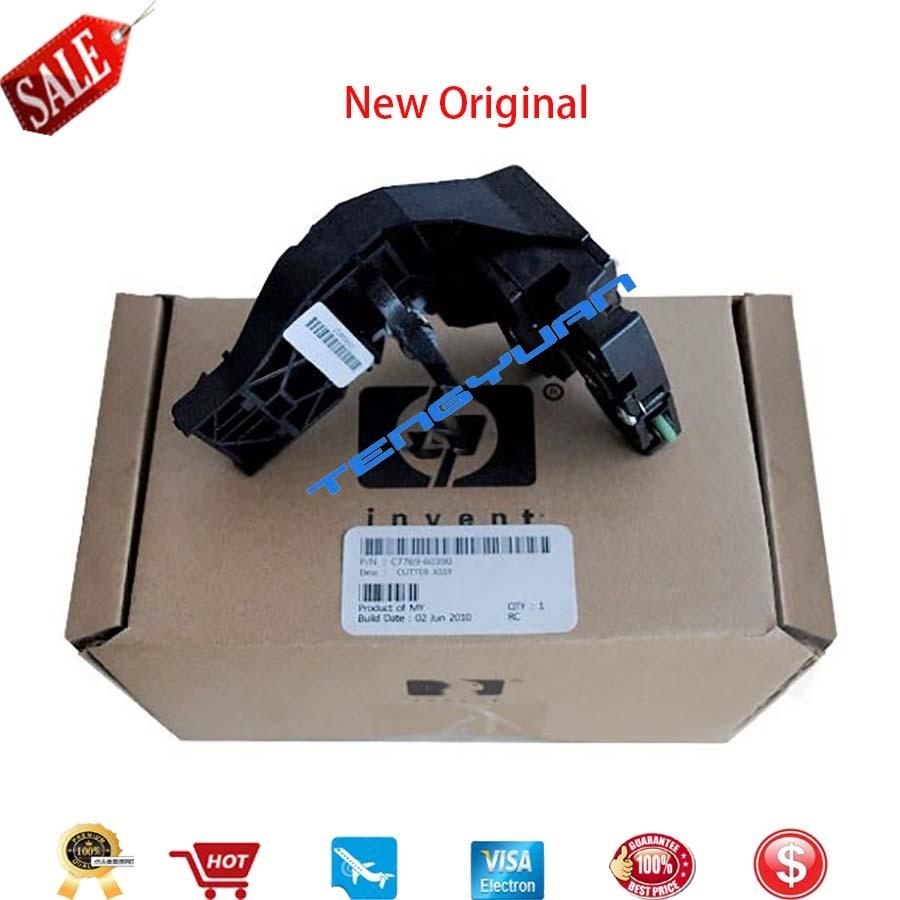 1 pcs x novo original c7769 60390 c7769 60163 conjunto do cortador para designjet 500 800