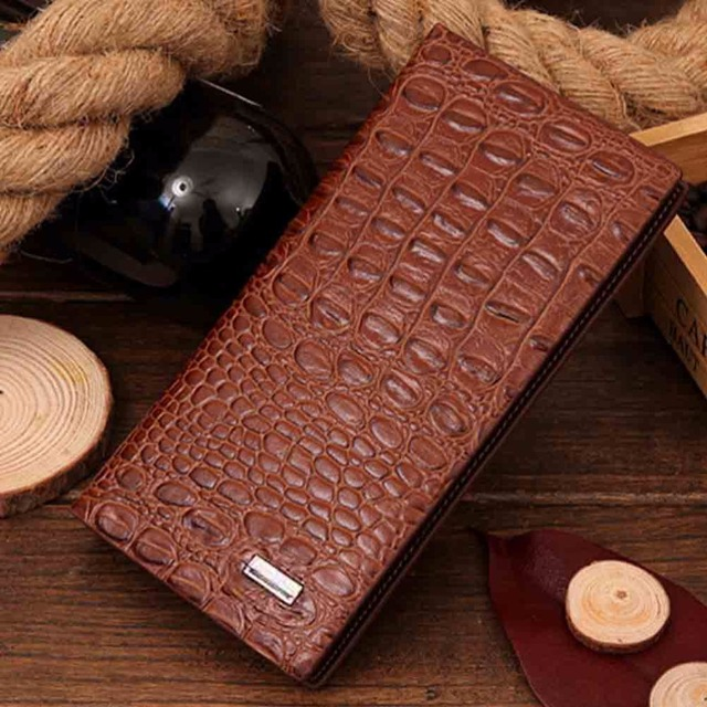 Men High Quality PU Leather Wallet