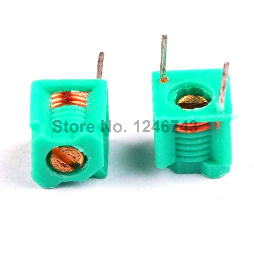 20PCS 2.5T Common Mode Inductor Coil Coil Adjustable Inductor 2.5 Turns