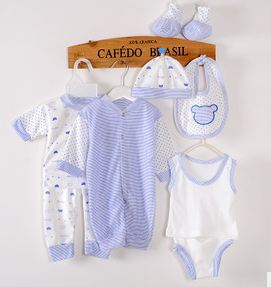 new 8 pieces in one newborn baby clothes baby clothing set baby boys/girls clothes cotton roupa infanti baby layettel