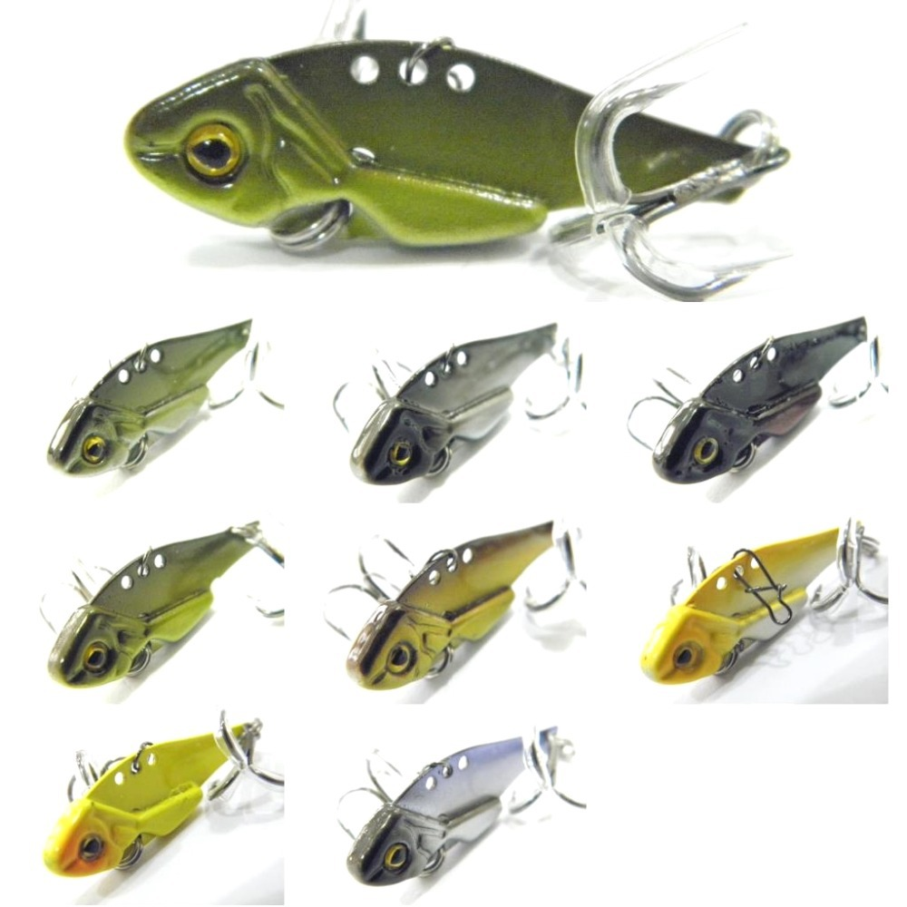 wLure Fishing Lure Blade Lure Metal VIB Hard Bait  Shallow Water Bass Walleye Crappie Minnow  BL3S 1x japan pike fighter musky fishing lure floating minnow fresh water hard plastic baits 30g 160mm bass pike lure walleye crappie