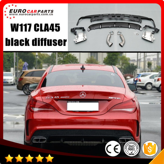 W117 Cla Diffuser Fit For Cla Class W117 Cla260 Sport Style Making