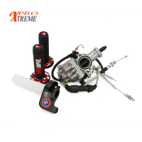 Russian overseas warehouse PZ30 IRBIS TTR250 Tuning Tuned Power Jet For Keihin 30mm Carburetor Visiable Twister Cable grips