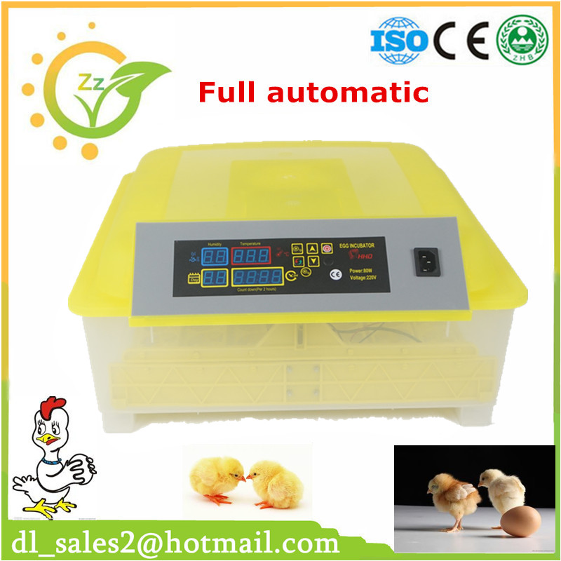Chicken incubator for sale egg hatching machine full automatic 220V available high hatching rate hot sale full automatic poultry egg incubator 96 chicken egg hatching machine 12v and 220v available