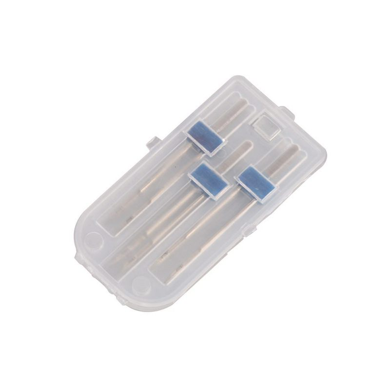 רשימת הקטגוריות 3pcs / סט גודל 2,0 / 90-3.0 / 90-4.0 / 90 פלדה זוגי טווין מחט תפירה מכונת מחטים סיכות בד דקור רקמה סריגה NeedlesN (2)