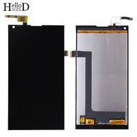 5.0'' Mobile Phone LCD Display Front Touch Glass For BlackView Crown LCD Display Touch Screen Glass Digitizer Panel Sensor Tools