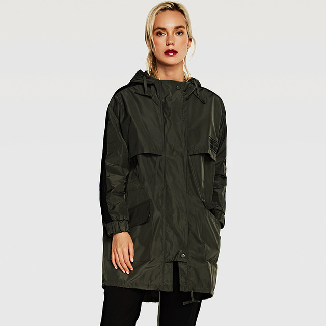 ZYSK 2018 Autumn Winter New High Fashion Brand Woman Classic Trench Coat for Women Loose Long Trench Coat Para Mulheres Outwear