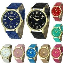 Louise Women Geneva Dress Watches Brand Luxury Leather Strap Quartz Ultrathin Fashion Casual Wristwatches Relogio Feminino 2016