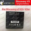 Открытие v5 батареи 100% 1800 мАч Аккумулятор Для Discovery v5 V5 + V5W Смартфон + Номер Трека-На Складе