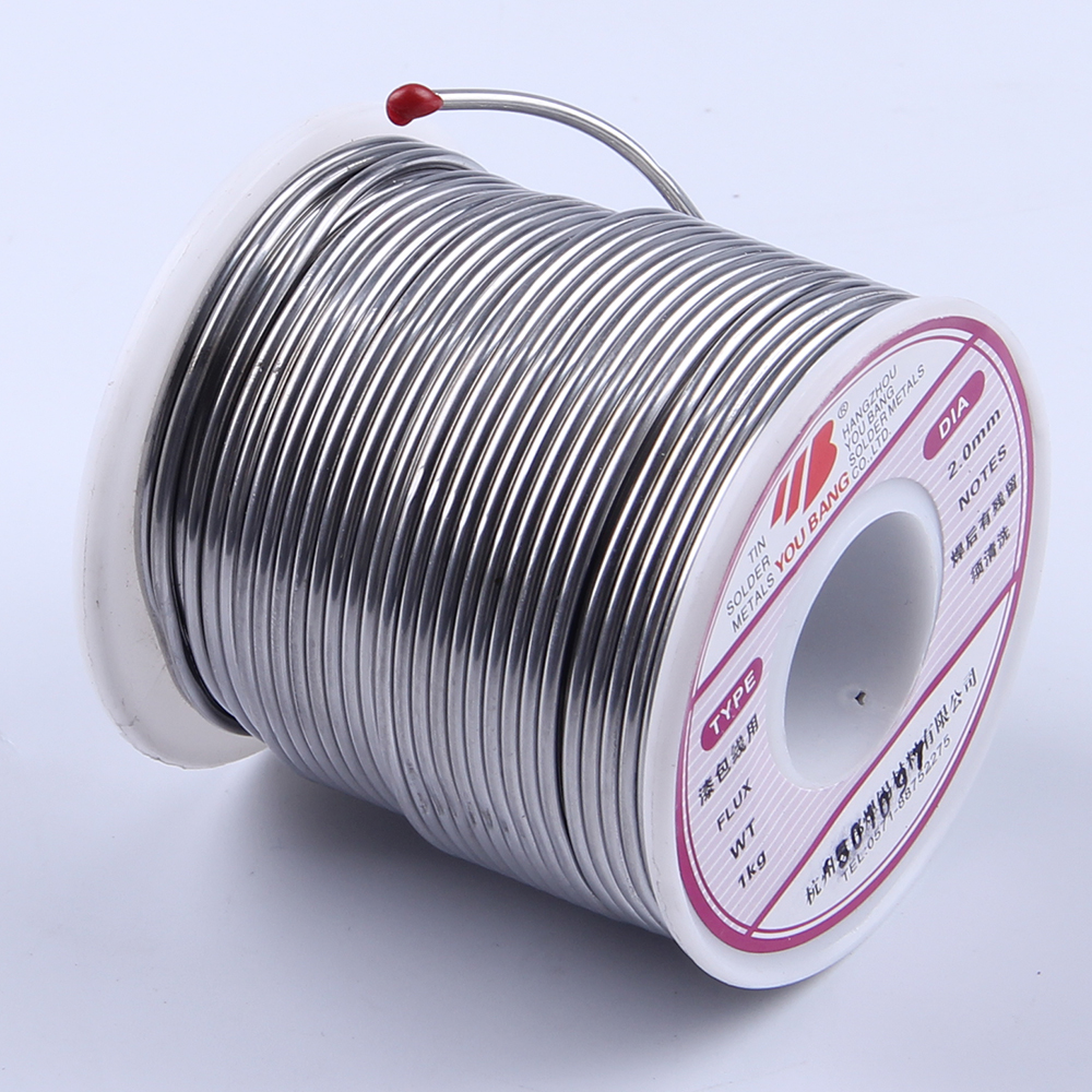 Tin Solder Wire 2.0mm 900g Soldering Welding Flux 1.8% for Aluminium wire Sale High Quality karihome 900g