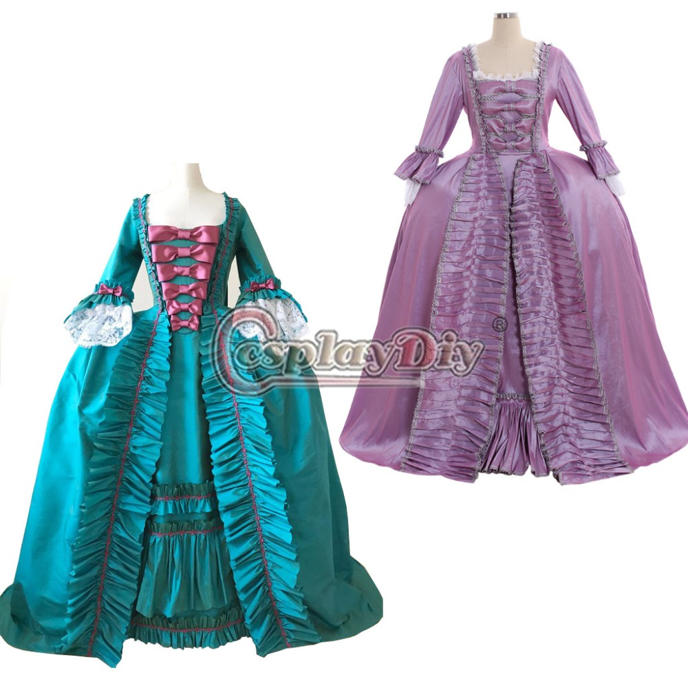 Cosplaydiy Custom Made Marie Antoinette Rococo Gown 18th Century Antoinette Baroque Ball Gown Dress Any Size L320
