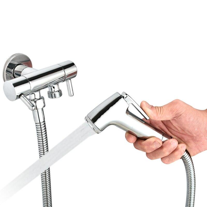 Bidet Bidet Vulva Spray Gun Handheld Safety Water Separator Waterproof Shower Hose Lengthened Hose in Bidets from Home Improvement