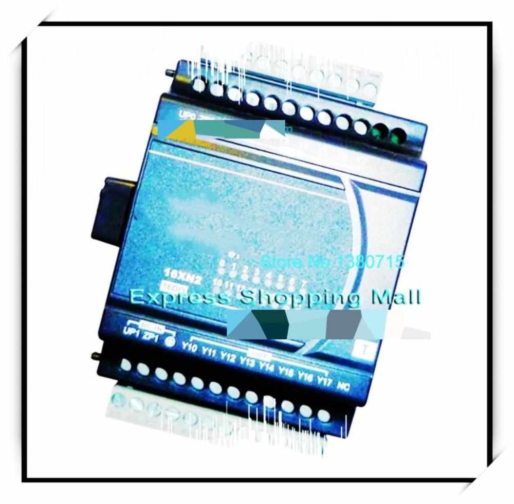 New Original DVP16XN211R Delta PLC Digital module ES2 series 24VDC 16DO Relay output dvp06xa e2 delta plc 4ai 2ao 14 bit resolution analog i o module new original