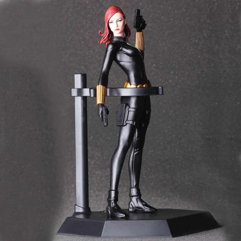 """Бесплатная доставка 8 """"Мстители Hero Black Widow CT Ver. В коробке 20 см ПВХ фигурка Коллекция Модель Кукла, подарок для девочки"""