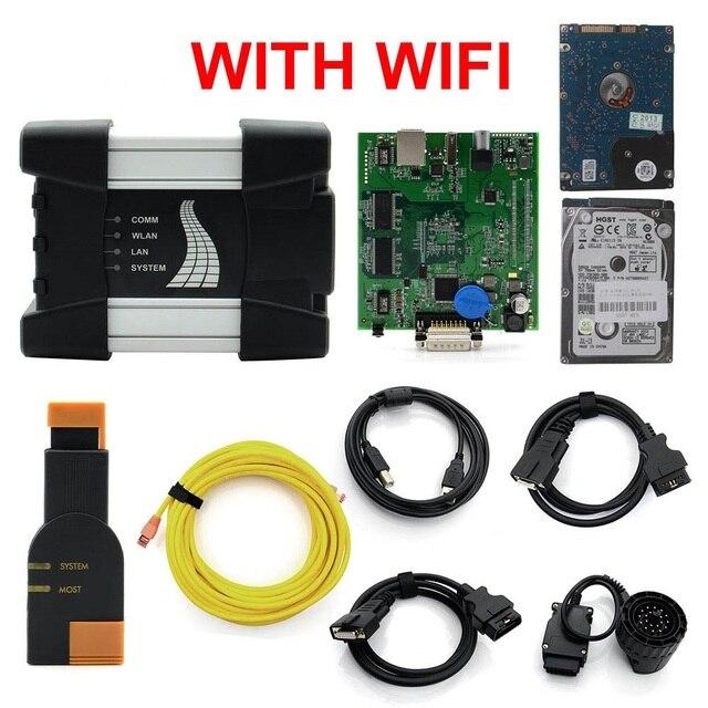 ICOM diagnóstico & programmer PRÓXIMO A2 ICOM a + B + C A2 3 em 1 HDD software para BMW ICOM todas as Séries WI-FI V2018.7 Codificação Cabo
