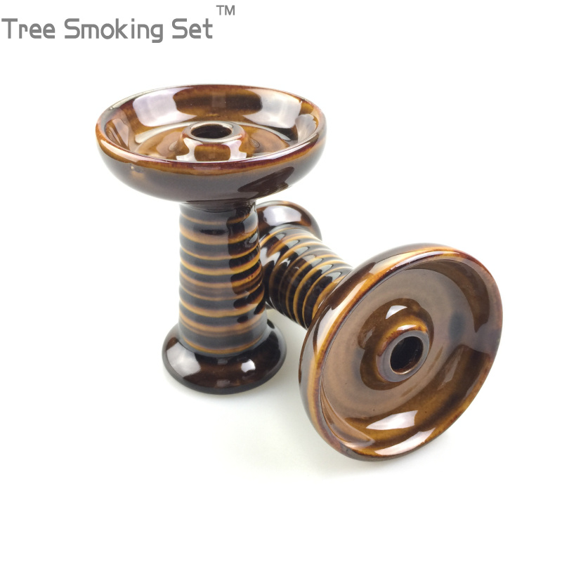 Save Tobacco Bowl Hole Ceramics Pretty Head Shisha Narguile Sheesha Chicha Narguile Arabia Hookah Accessories Tree Smoking Set