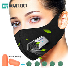 GSUNAN Anti Dust Electric Mask New Design n95 Respirator Masks for Sports,Sanding,Gardening,TravelResist Dust,Germs,Allergies
