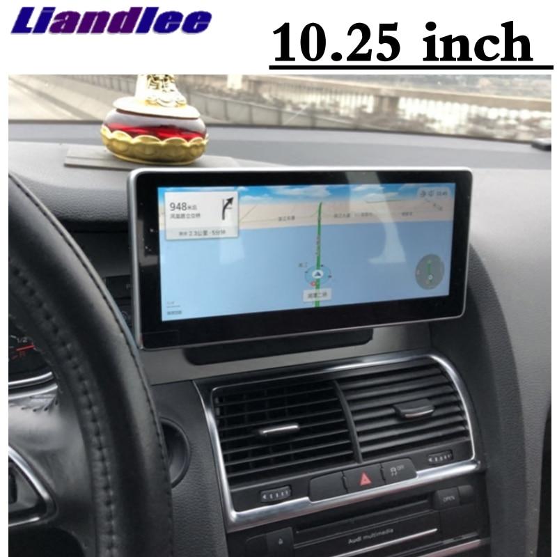 Liandlee Car Multimedia Player NAVI For Audi Q7 4L V12 TDI 2005~2013 Original Car System inch Radio Stereo GPS Screen Navigation 1