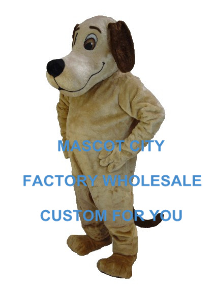 Hound Dog Mascot Costume Adult Size Cartoon Character Mascotte ...
