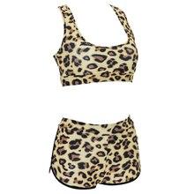 New Arrival Female Swimsuit Bikini Plus Size Sexy Women Leopard Printed Bikini Set Swimwear Swimming Suit Beachwear