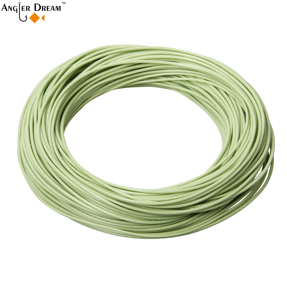 DT 1 2 3 4 5 6 7 8 9F Fly Line Moss Green Double Taper Floating Fly Fishing Line