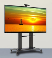 High Grade Aluminum NB AVF 1800 70 1P TV Mobile Cart 55 70 Free Lifting LED