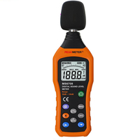 2 Pieces LCD MS6708 Digital Sound Level Meter Noise Meter Measuring Logger Tester 30 to 130 dB Measuring Logger Tester