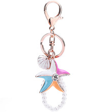 FREE SHIPPING New Design 2014 Opal Butterfly Tassel Bag Hanger Keychain Fashion Keyring Souvenir