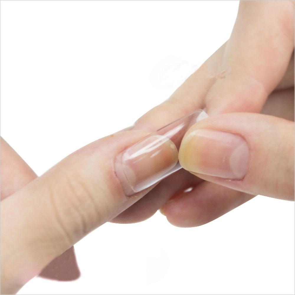 Wholesale 100 Pcs Clear False French Style Acrylic UV Gel Nail Tips ...